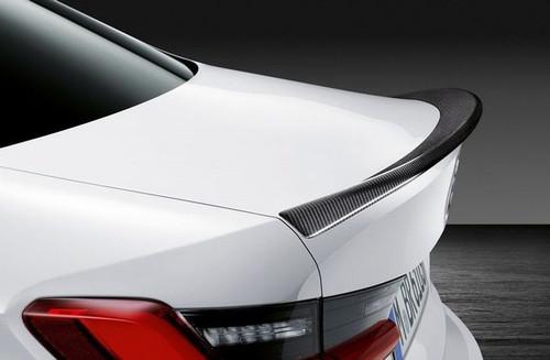 BMW M Performance Rear Lip - Carbon Fiber - Genuine BMW 51192458369