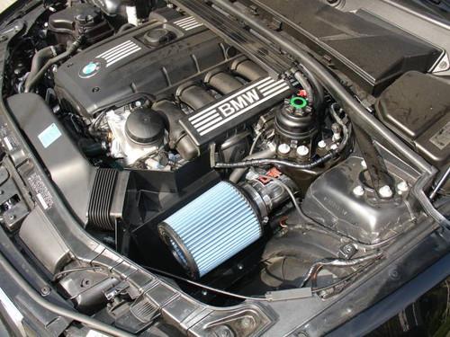 BMW Polished SP Short Ram Cold Air Intake System - Injen SP1121P