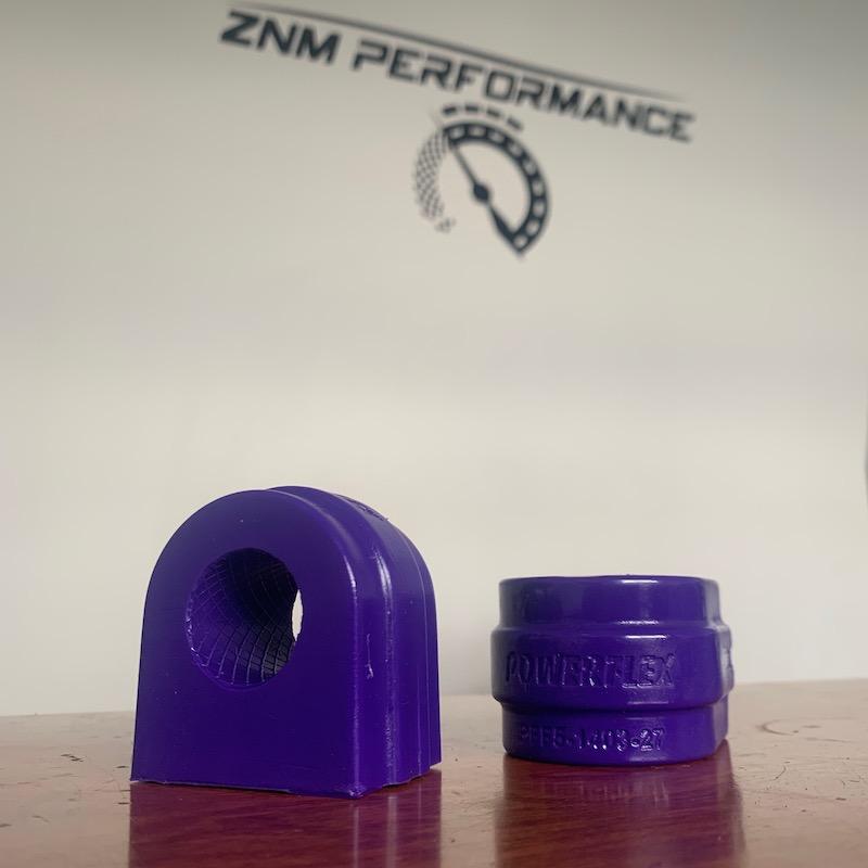 E70 X5 PowerFlex Front Sway Bar Bushings by ZNM Performance