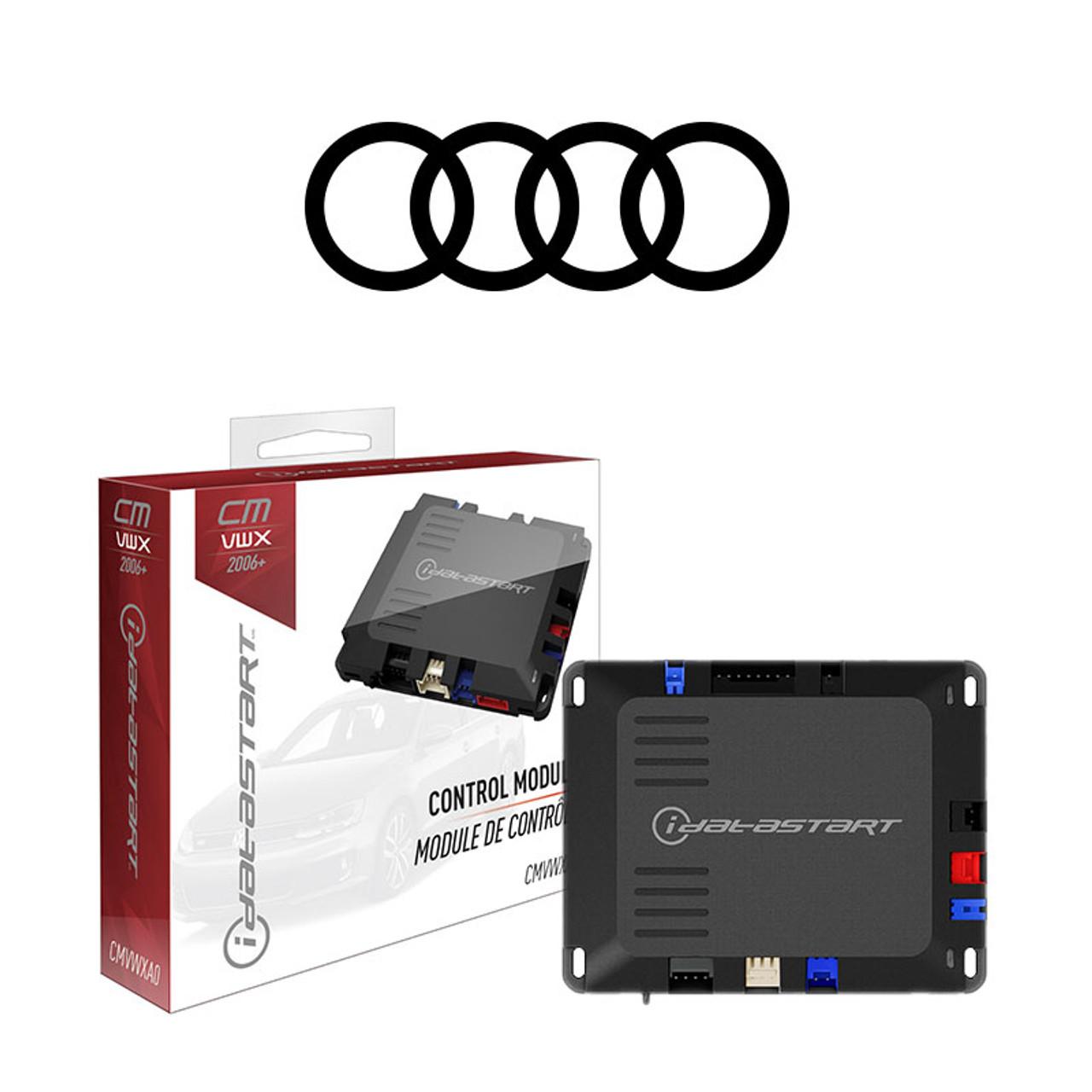 Audi Vehicle Specific Remote Starter Installed**