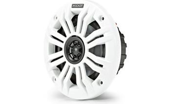 """Kicker 45KM42 4"""" 2-way marine speakers (2-ohm)"""