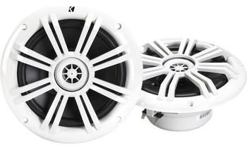 """Kicker KM604W 6-1/2"""" 2-way marine speakers"""