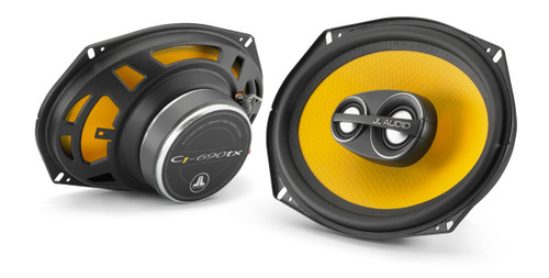 JL Audio C1-690tx: 6 x 9-inch 3-Way Coaxial Speaker System