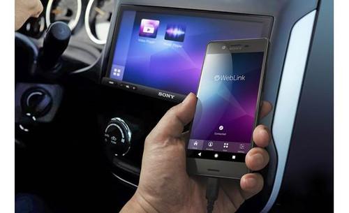 "Sony XAV-AX7000 6.95"" High Power Apple CarPlay/Android Auto Bluetooth Digital Media Receiver"