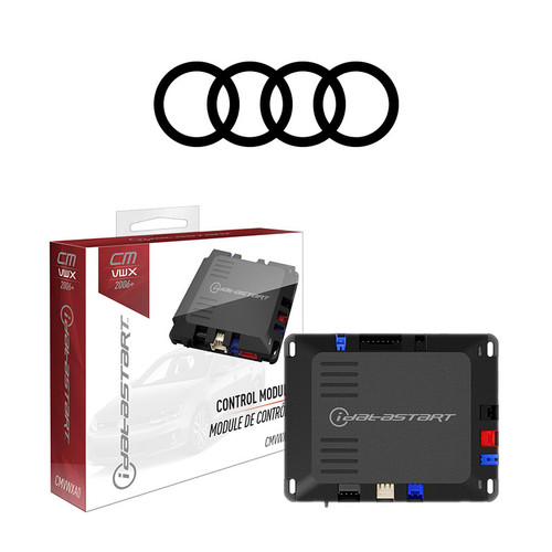 Audi Vehicle Specific Remote Starter Installed**
