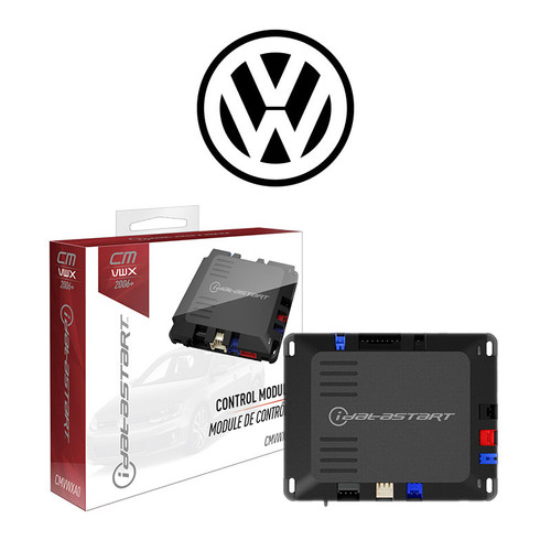 VW Vehicle Specific Remote Starter Installed**