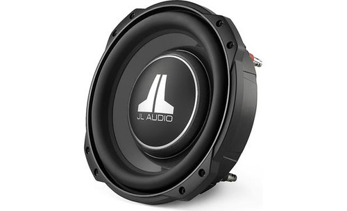 "JL Audio 10TW3-D4 Shallow-mount 10"" subwoofer with dual 4-ohm voice coils"