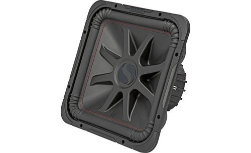 """Kicker 45L7R152 Solo-Baric L7R Series 15"""" subwoofer with dual 2-ohm voice coils"""