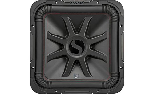 "Kicker 45L7R122 Solo-Baric L7R Series 12"" subwoofer with dual 2-ohm voice coils"