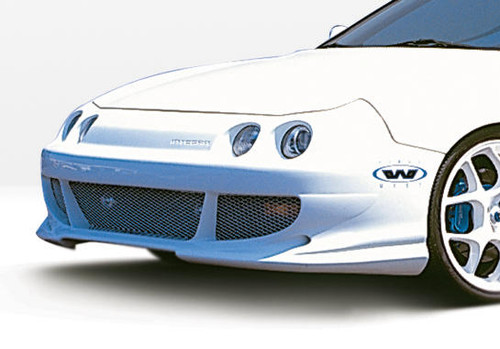 Wings West 890471 Urethane 1994-1997 Acura Integra 2/4Dr Bigmouth Front Bumper Cover
