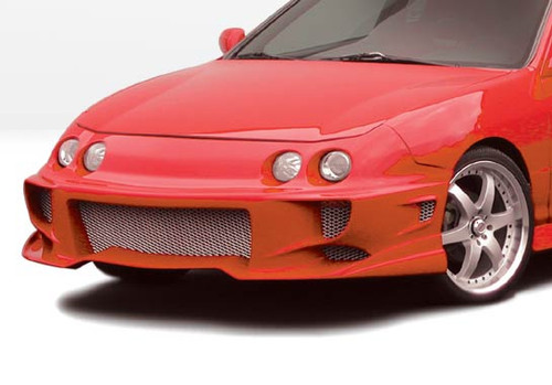 Wing West 890472 Urethane 1994-1997 Acura Integra 2/4Dr Aggressor Typ 2 Front Bumper Cover