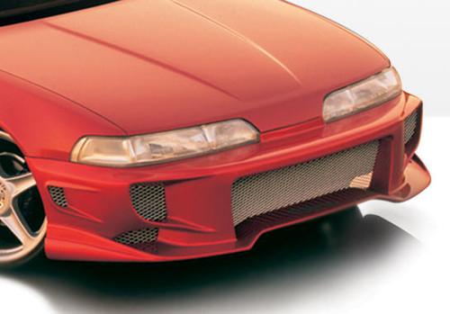 Wings West 890473 Urethane 1990-1993 Acura Integra 2/4 Door Aggressor Type 2 Front Bumper Cover