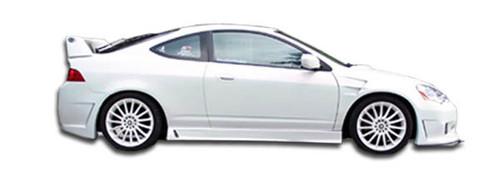FLEX FIBER 30-1004-02 Fiberglass 02-04 Acura RSX BC2 Style Fiberglass Side Skirts