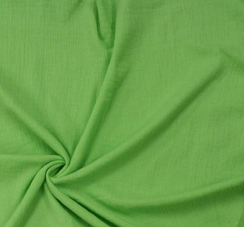Cotton Gauze Apple Green