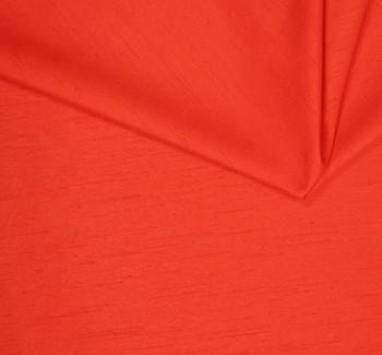 """Shantung Slub Solid Orange  Width 58/60"""""""