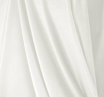 """Stretch Velvet Solid Optic White Width 58/60"""""""