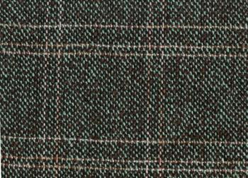 "Tweed Bolivia Brown/Light Blue Width 57/58"""