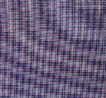 Stretch Plaid 8001 Lilac/Blue