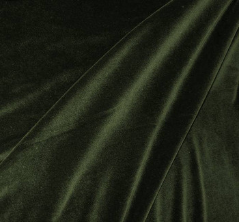 "Steam Velour Olive Width 58/60"""