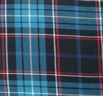 Flannel Plaid Navy/Blue 8N386