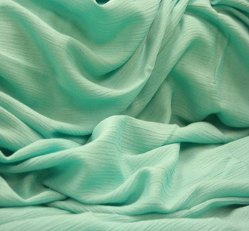 Rayon Crinkle Mint