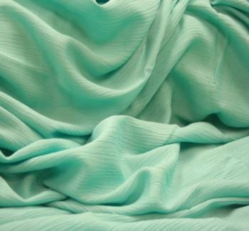 Rayon Crinkle Mint