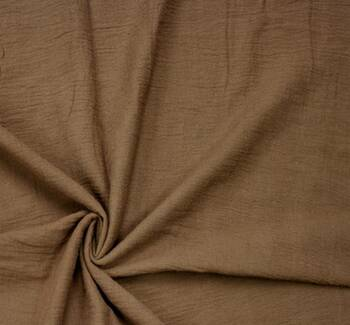 Cotton Gauze Brown