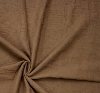 Cotton Gauze Brown