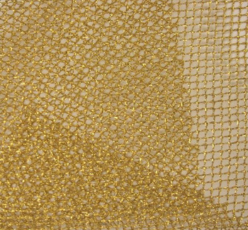 Chain Net with Foil Gold