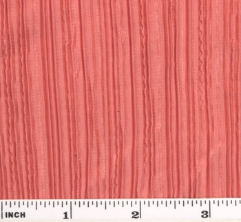 Bodre Solid W/Aunt Pleat Peach Width 58/60""