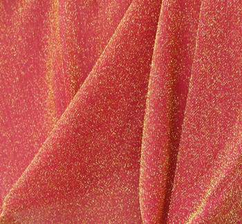 "American Knit Solid Fuschia/Gold Width 58/60"""