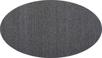 "Trellis Suiting Fabric Med Grey  Width 58/60"""