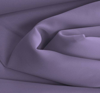 """Double Georgette Solid Lilac Width 58/60"""""""