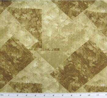 "Linea Fabric 2G105 Caramel/Brown Width 58/60"""