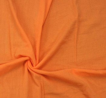 Cotton Gauze Orange