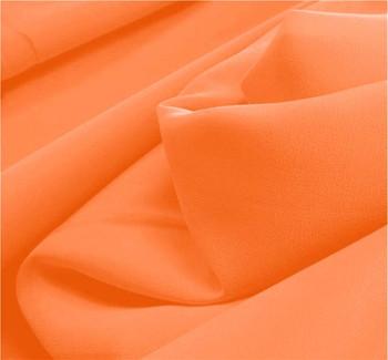 """Pebble Georgette Orange Width 58/60"""""""