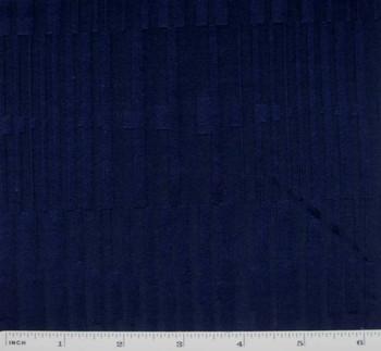 "Knit Alex Stripe Navy Blue Width 52/54"""