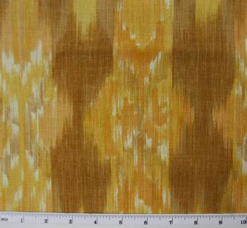 "Linea Fabric 2G106 Brown/Orange Width 58/60"""