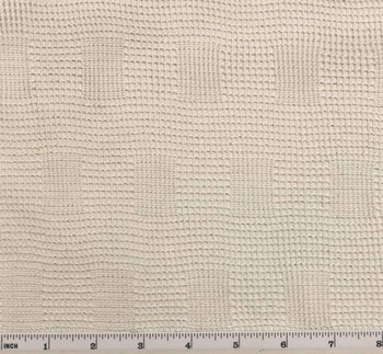 French Mesh Lace White/Silver Width 55/56""