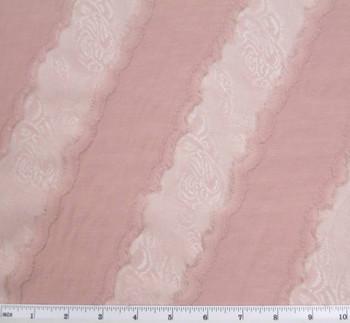 "Knit Chanel Jacquard Pink Width 58/60"""