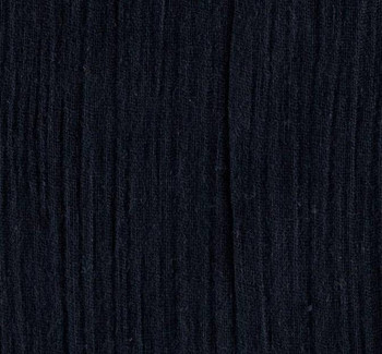 Rayon Crinkle Navy