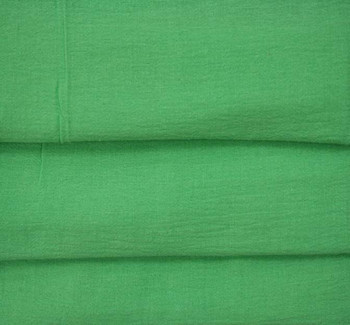 Cotton Gauze Kelly Green