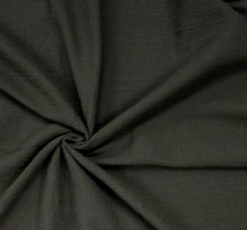 Cotton Gauze Black