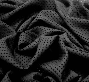 """Lace 1D627 Black Width 57/58"""" 84%Cotton 16%Nylon 240 Gr/Yd"""