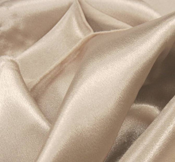 Crepe Back Sateen Champagne