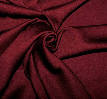 Rayon Satin Stretch Dark Burgundy