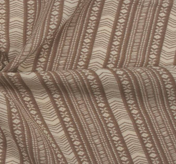 Poly Spandex 1D821 Taupe/Ivory