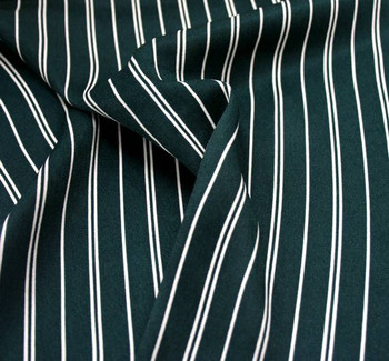 Wool Peach Stripe 1D1014 Green/Ivory
