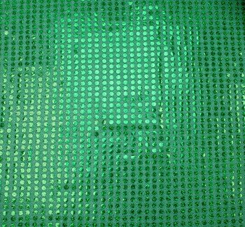 6 MM Sequins Kelly Green