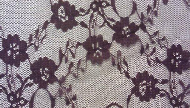 Floral Lace Eggplant